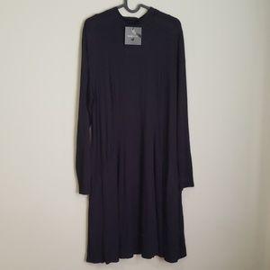 MICHEL STUDIO |NWT Black Flowy Long Sleeve Dress